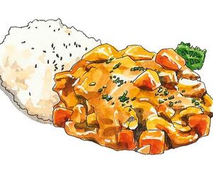 art, rices, and aki chan image