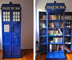 book, doctor who, and tardis image