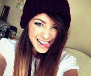 zoella, hair, and youtube image