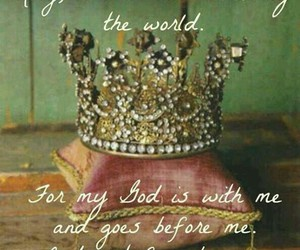 god, king, and daughter image