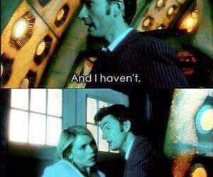 doctor who, tardis, and david tennant image