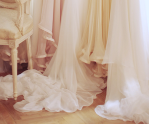 bridal, pink, and white image