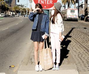 korean fashion, kfashion, and korean image