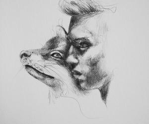 animal, art, and friend image