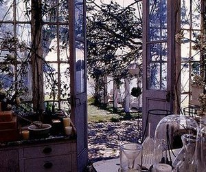 house, winter garden, and practical magic house image