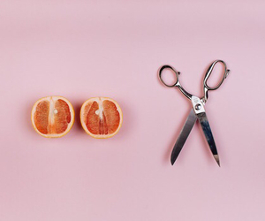 pink, orange, and fruit image