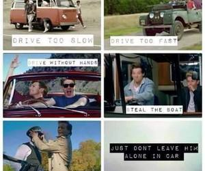 one direction, drive, and louis tomlinson image