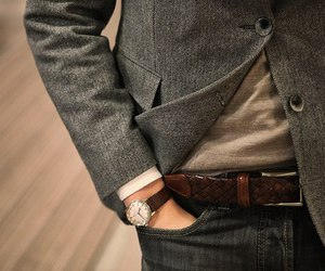 watch, chic, and men style image