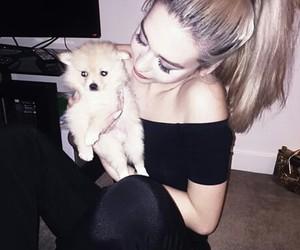 amanda steele, dog, and puppy image