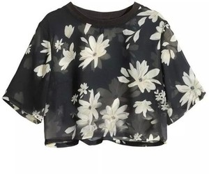 flowers, shirt, and fashion image