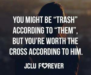 cross, treasure, and god image