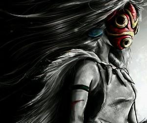 princess mononoke, anime, and studio ghibli image