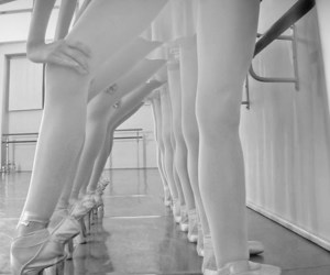 ballet, dance, and ballet shoes image