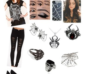 accesories, black, and Polyvore image