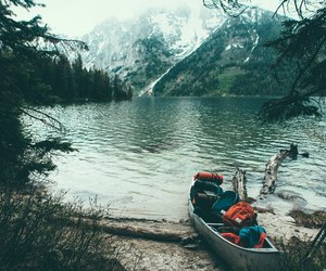 nature, hipster, and mountains image