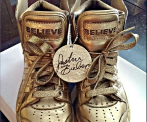 justin bieber, believe, and shoes image