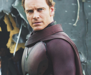magneto, Marvel, and michael fassbender image