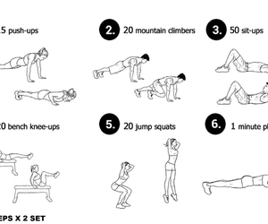 fitness, body, and exercise image