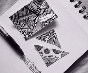art, doodle, and cute image
