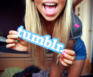 tumblr, girl, and blonde image