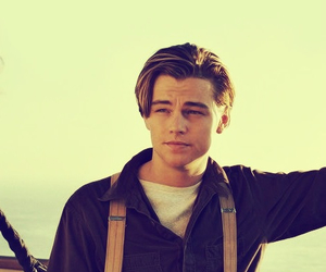 titanic, leonardo dicaprio, and Hot image