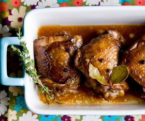 Chicken and adobo image