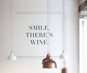 smile and wine image