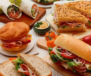 delicious, party, and sandwich image