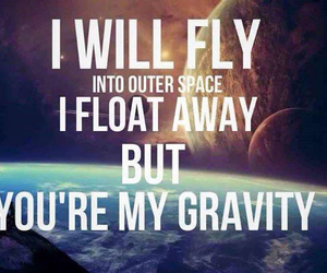 fly, gravity, and Lyrics image