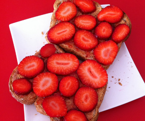 delicious and strawberry image