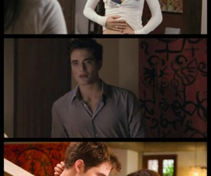 breaking dawn, edward and bella, and painting image