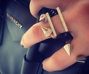 fashion, Givenchy, and gold image