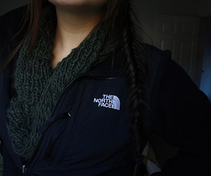 scarf, photography, and northface image