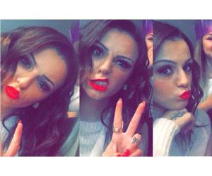 red, hispster, and cher lloyd image