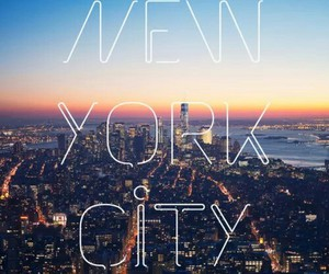 city, new york, and new york city image