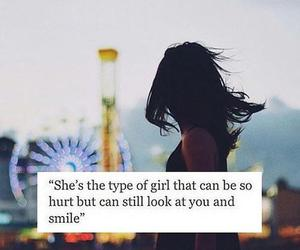 quotes, smile, and hurt image