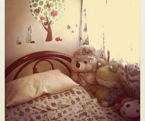 bedroom, doll, and cute image