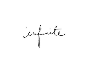 infinite, quote, and text image