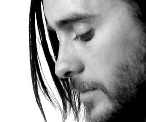 black and white, Hot, and jared leto image