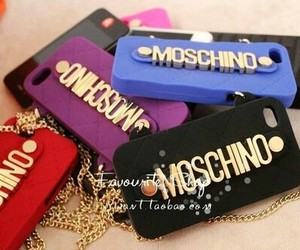 Moschino and phone case image