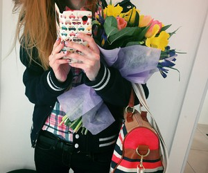 casual, flover, and girl image
