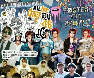 mark foster, foster the people, and Collage image