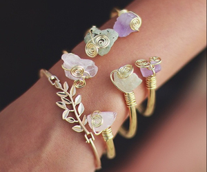 accessories, bracelets, and rocks image