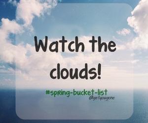 beautiful, clouds, and fun image