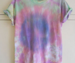 grunge, tie dye, and hipster image