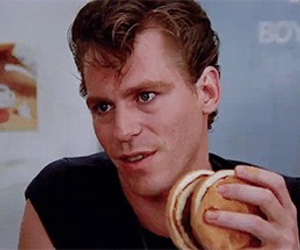 babe, kenickie, and grease image