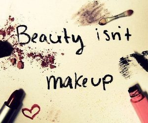 beauty, makeup, and quotes image