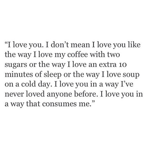 I\'m in love with everything about you 💘 on We Heart It