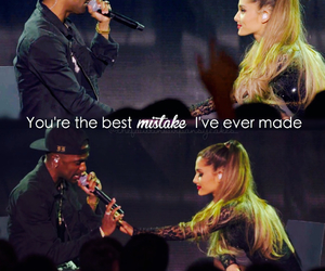 best mistake, big sean, and ariana grande image