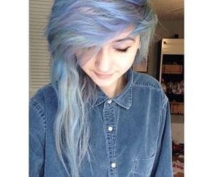 dyed hair image